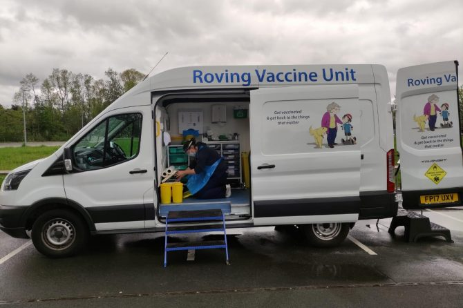 Surge Testing and Surge Vaccinations for North Tyneside