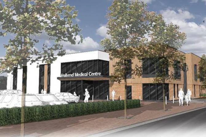 New Wallsend Hadrian Health Centre gets underway